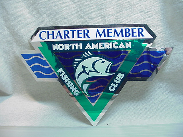 稀少NOTHAMERICAN FISHING CLUB CHARTERMEMBER